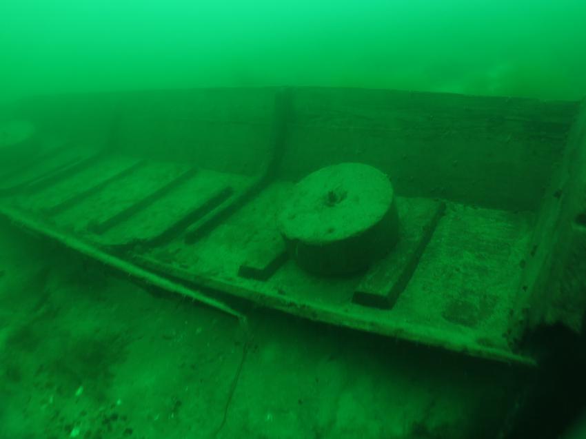 Boot 1, Tauchbasis Tauchfabrik Rastatt / Plittersdorf, Deutschland, Baden Württemberg