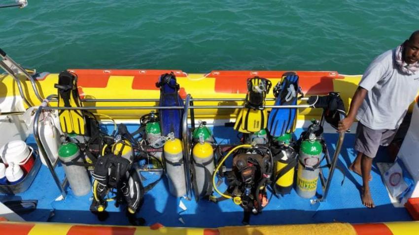 Schnellboot, Sea World Diving Center, Marsa Alam, Ägypten, Marsa Alam und südlich