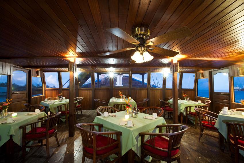 Mnuw Restaurant & Bar, Yap, Mikronesien