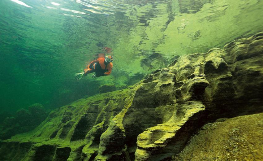 Scuben Tour 1, Atlantis Qualidive, Traunfall, Österreich