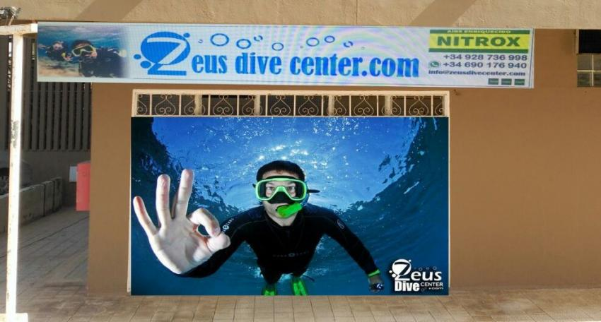Zeus Dive Center, Tauchen auf Gran Canaria, Zeus Dive Center, Playa del Ingles, Gran Canaria, Spanien, Kanarische Inseln