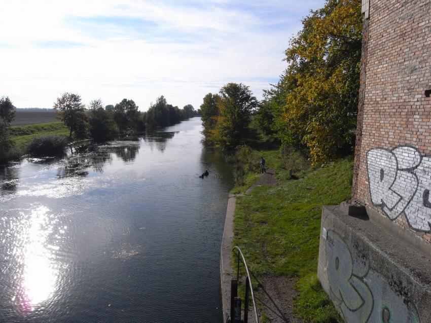 Salle - Elster  Kanal, Saale-Elster-Kanal,Sachsen,Deutschland