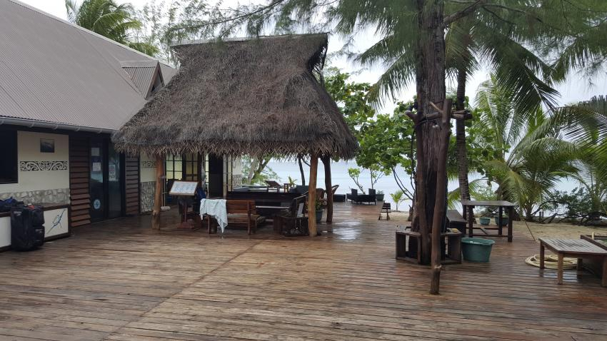 Tauchbasis, The Six Passengers Diving Center, Rangiroa, Französisch-Polynesien