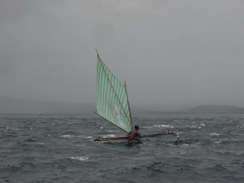 Irian Jaya - Pindito Kreuzfahrt, Irian Yaja,Indonesien,Wetter,segel,auslegerboot,fischer