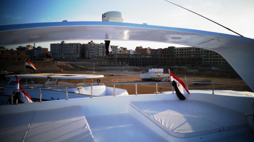 M/Y Carlton Queen, Ägypten