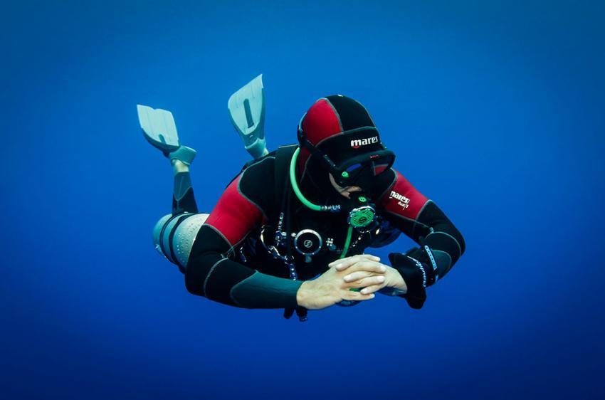 Sidemount Tauchen in Mauritius, Sidemount, Mauritius, TEC Diving Mauritius
