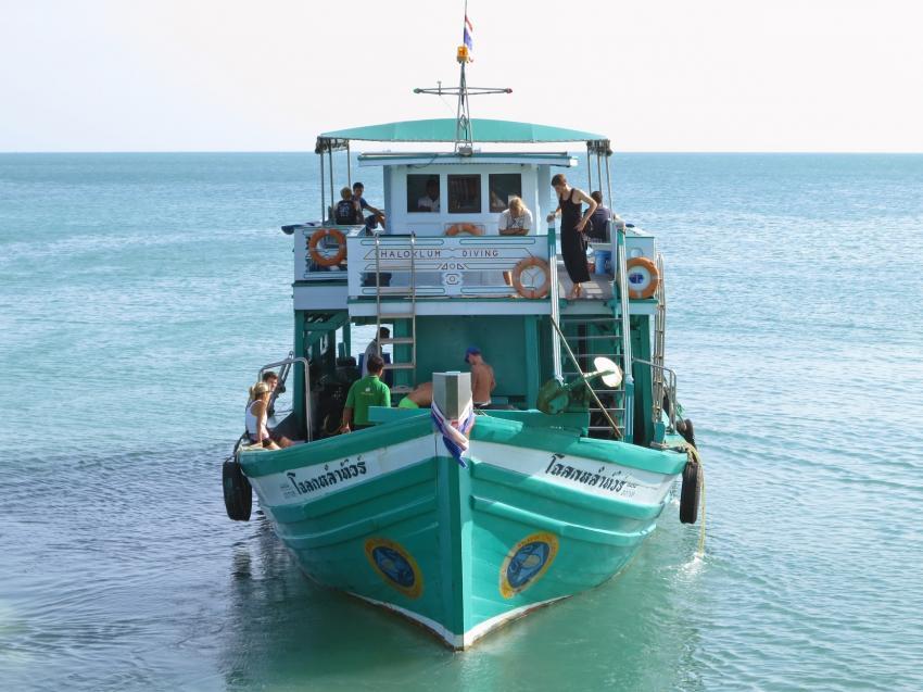 Chaloklum Diving Tauchboot, Chaloklum Diving Koh Phangan Thailand, Chaloklum Diving, Koh Phangan, Thailand, Golf von Thailand