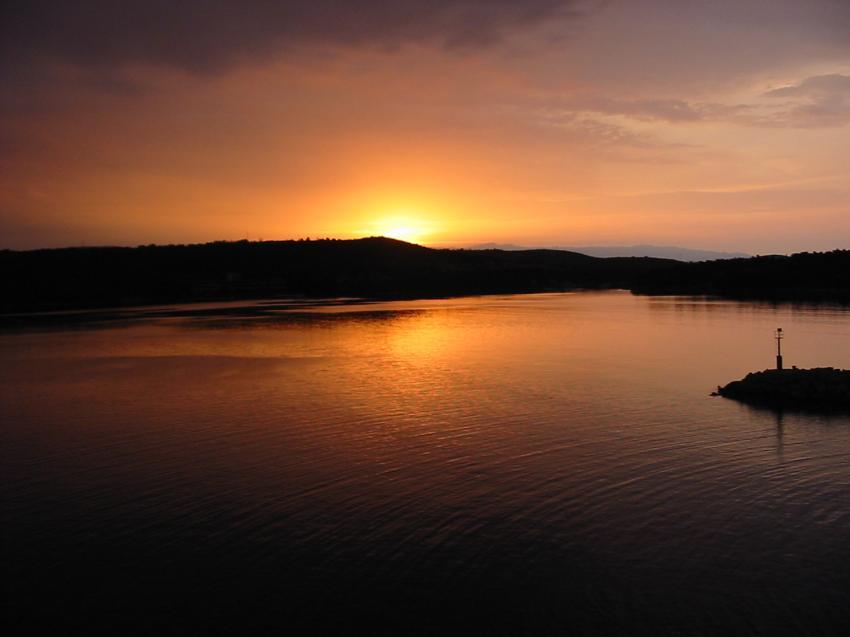 Insel Hvar, Insel Hvar,Kroatien,Sonnenuntergang