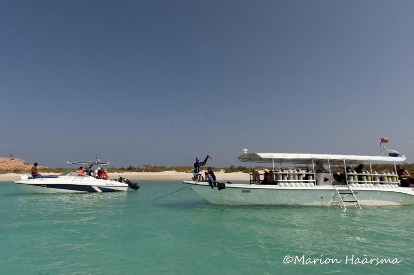 Ausflug zu den Daymaniatts, Extra Divers, Sifawy Boutique Hotel, Sifah, Oman