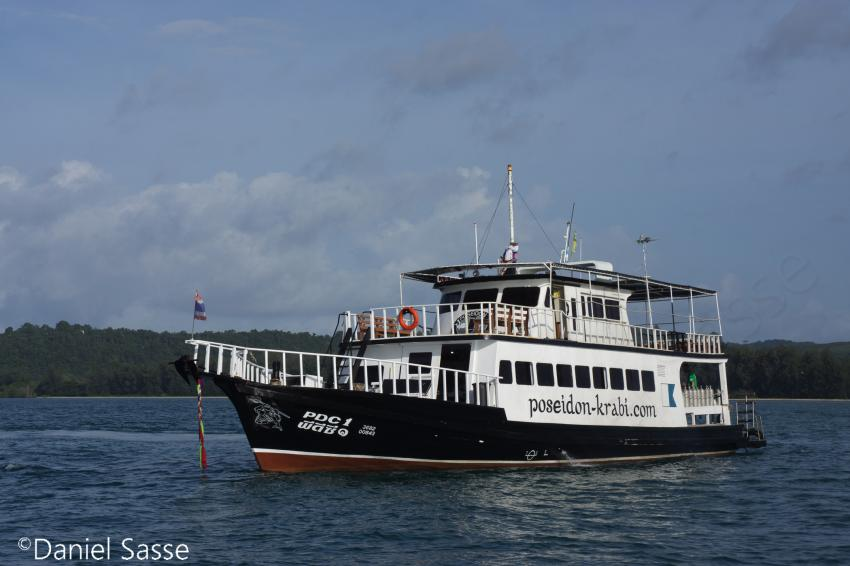 Tages Boot PDC1, Boot, pdc1, poseidon dive center, Poseidon Dive Center, Krabi / Ao Nang, Thailand, Andamanensee