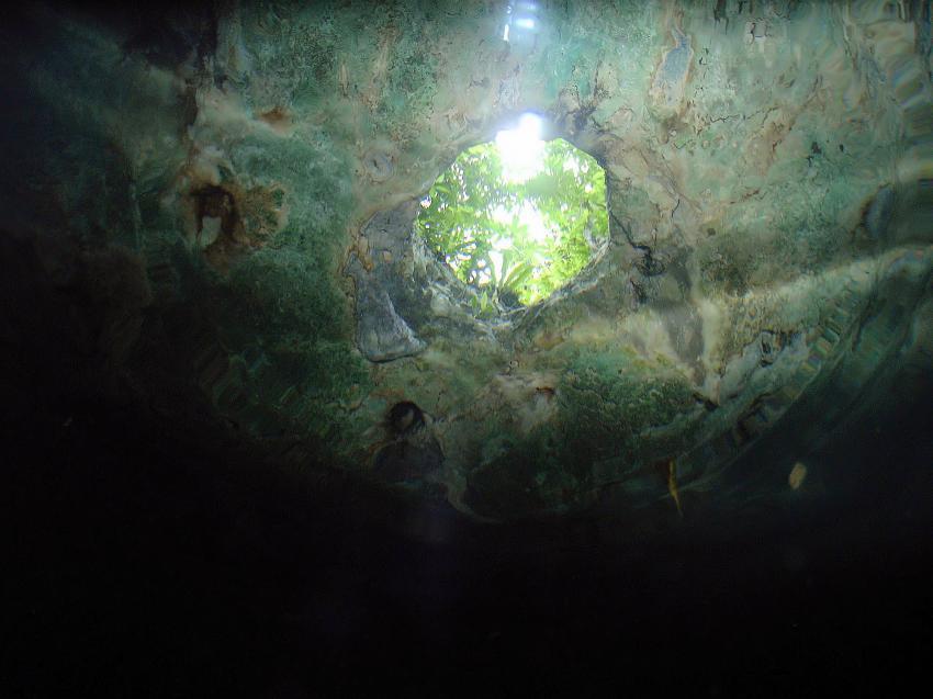 Cenote Calavera, Cenote Calavera,Mexiko