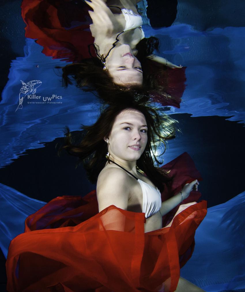Unbterwassermodel Fotografie