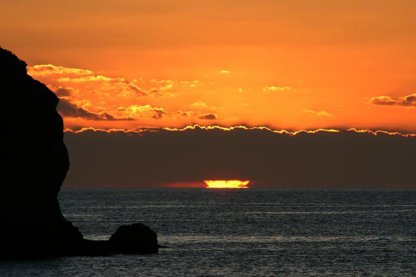 Pulau Satonda, Pulau Satonda,Indonesien,Sonnenuntergang