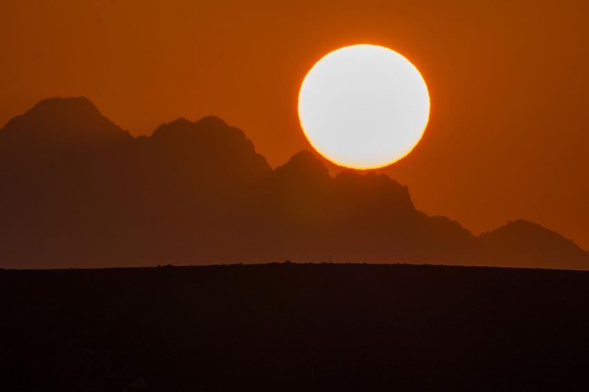 Sonnenuntergang Lahami