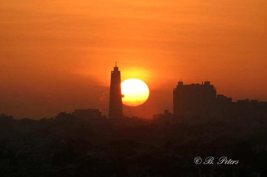 Habana, Habana,Kuba,Sonne,Sonnenaufgang,Sonnenuntergang,Turm,Kirche