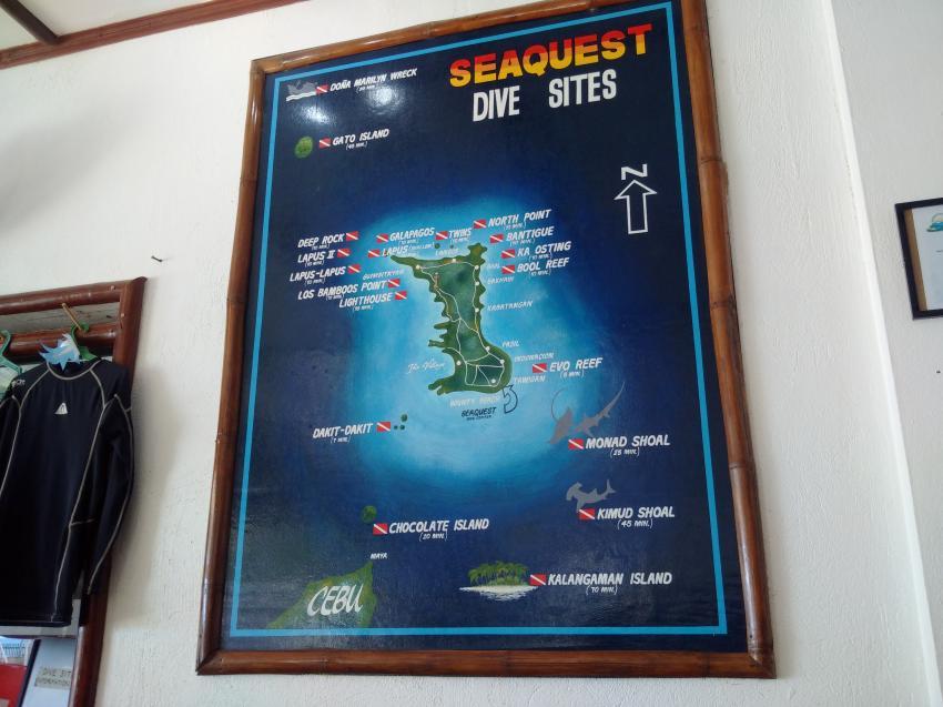 Tauchplätze around the island, Devocean Divers, Malapascua (ehemals Seaquest Divecenter), Philippinen