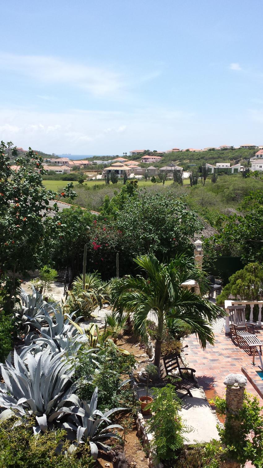 Garten 2, Diving Curacao (Kashimiri Apartments), Niederländische Antillen, Curaçao
