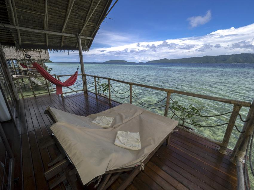 Papua Explorers Veranda, Tauchen Raja Ampat, Raja Ampat Papua Explorers Resort, Indonesien, Allgemein