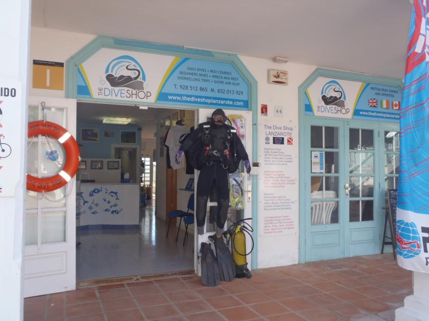 The Dive Shop, Diving Lanzarote, The Dive Shop Tenerife, Spanien, Kanarische Inseln