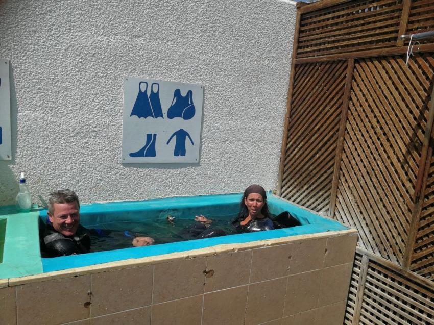 für die Ausrüstung .., Aquarius Diving Club, Port Ghalib, Ägypten, El Quseir bis Port Ghalib