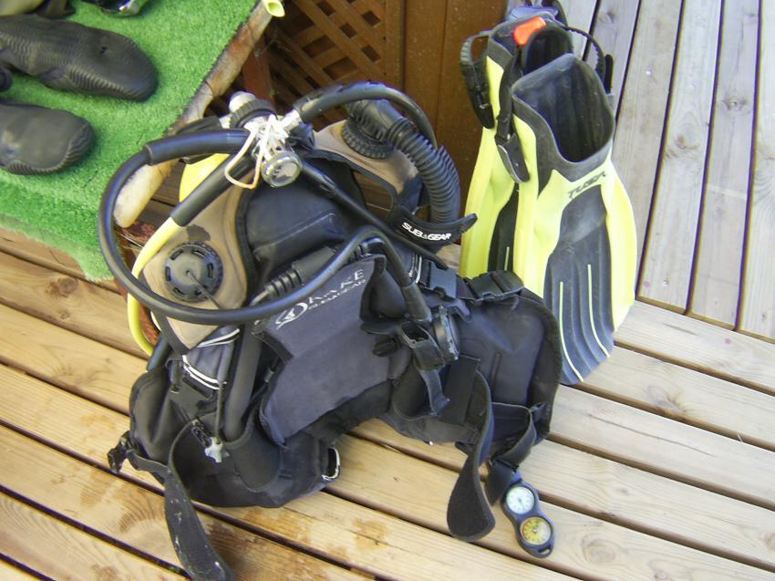 Die perfekte Ausrüstung  :-), Teil 1., Scuba Turtle - Diving School, Türkei
