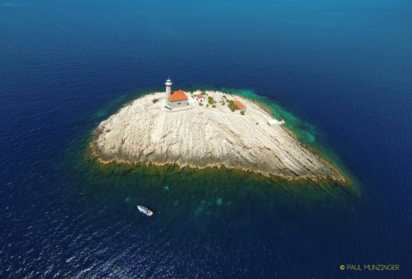Blitvenica, Zirje Steilwandtauchen, Najada diving, Murter, Kroatien