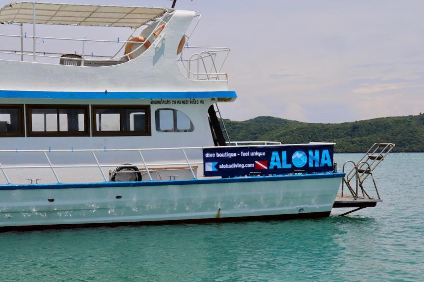 Tauchboot in Phuket, Aloha Diving, Rawai, Phuket, Thailand, Andamanensee
