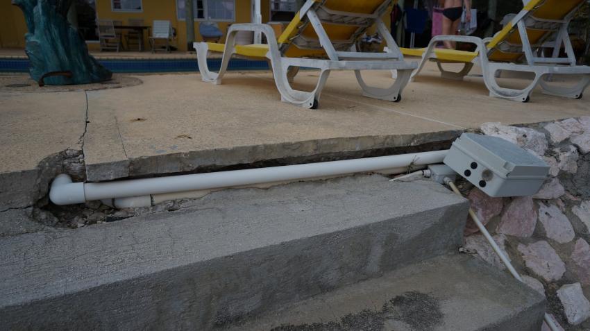 am Pool, Apartments Watapana, Niederländische Antillen, Curaçao