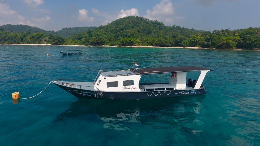 PULISAN RESORT DIVE BOATS, Pulisan Diving (ex Happy Dugong Dive Center), Indonesien, Sulawesi