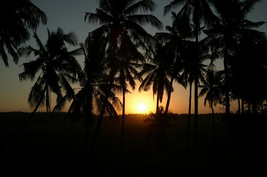 Tofo, Tofo,Mosambik,Sonnenuntergang