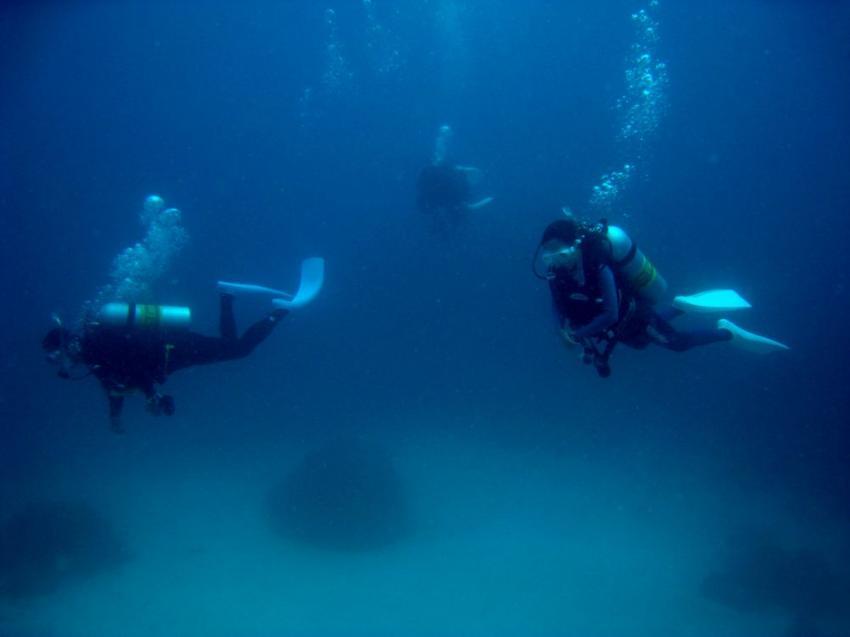 Vilu Reef, Vilu Reef,Malediven,taucher,tauchgang,gruppe,luftblasen