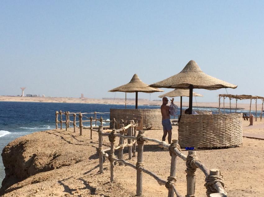 Strandbar am Hausriff, Hotel Viva Blue, Extra Divers Sharm El Naga, Hotel Viva Blue, Extra Divers Sharm El Naga, Extra Divers - Hotel Viva Blue, Sharm el Naga , Ägypten, Safaga