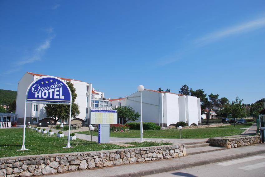 Hotel Omorika, Punat, Insel Krk, Kroatien