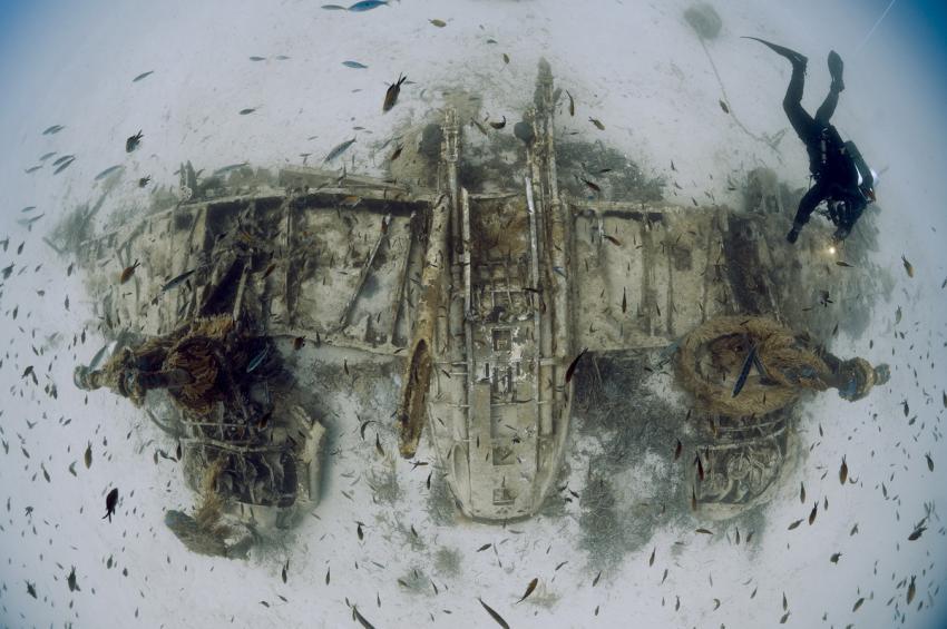 Bristol Beaufighter, Wrack, Flugzeugwrack, Bristol Beaufighter, Wrack Bristol Beaufighter, Malta