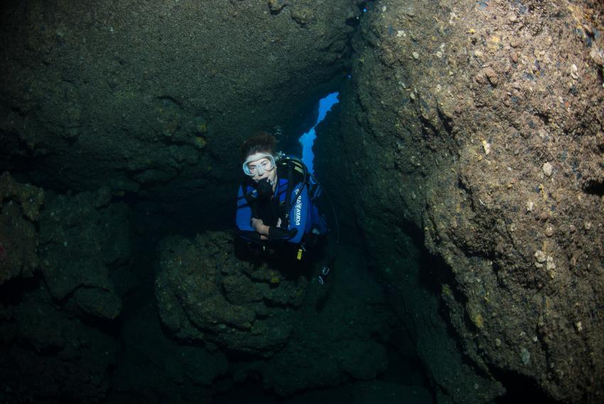 Kleine Höhle  am Cavus Burnu, Cavus Burnu, Adrasan, Türkei