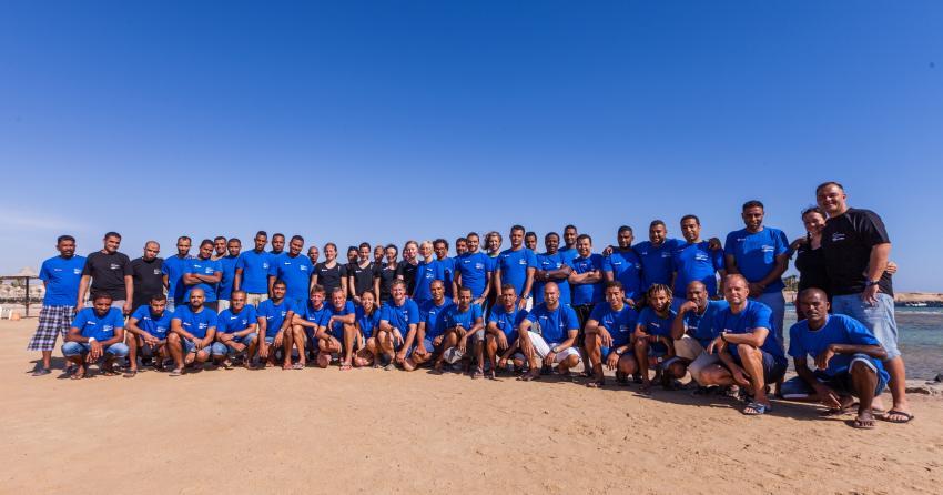 Team 2017, Coraya Divers, Coraya Beach, Marsa Alam, Ägypten, Marsa Alam und südlich