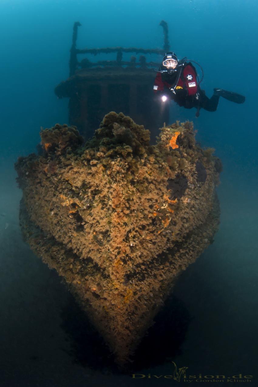 St.Michael Wrack, Malta, St.Michael Wrack, Mittelmeer, Extra Divers Malta, Malta