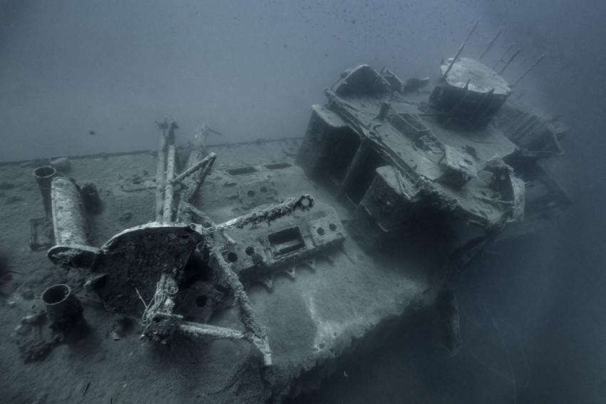 Patrolac wreck, ProDiving, Serbien und Montenegro, Patrolac wreck, Patrolac Wrack
