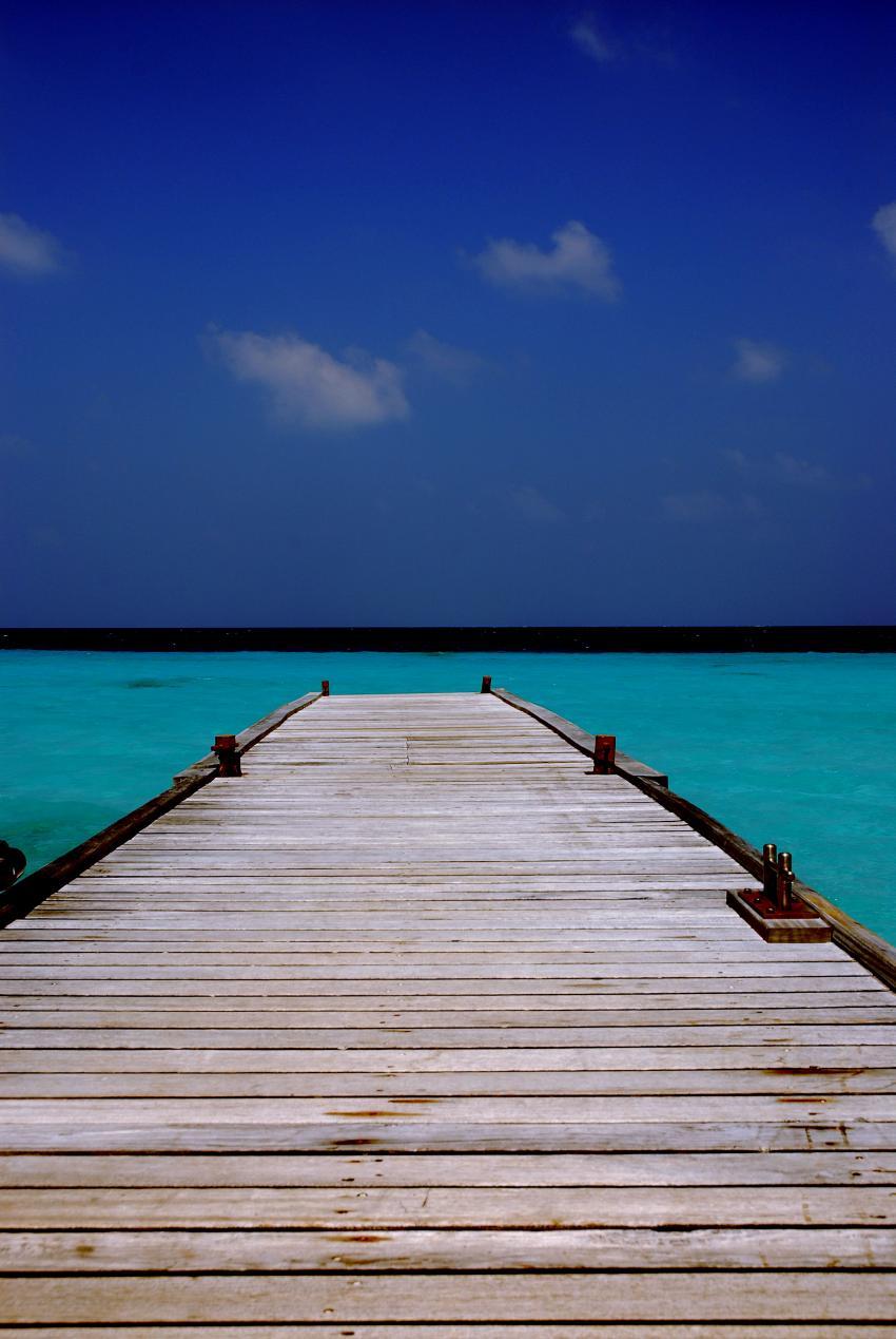 Kuramathi/Rasdhoo, Kurumathi - Rasdhoo Atoll (Ross Atoll),Malediven,Steg,Strand