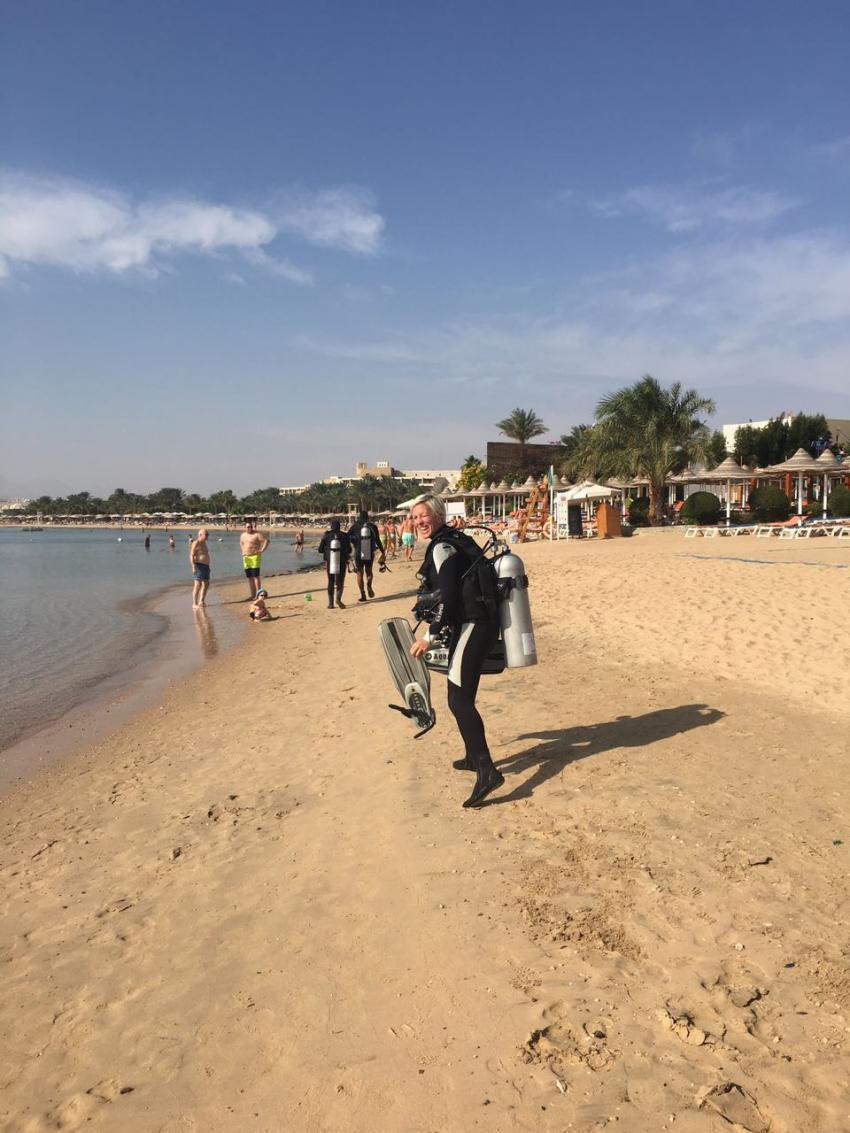 Strandtauchgang, Diving Ocean - Hotel Prima Life Resort, Ägypten, Safaga