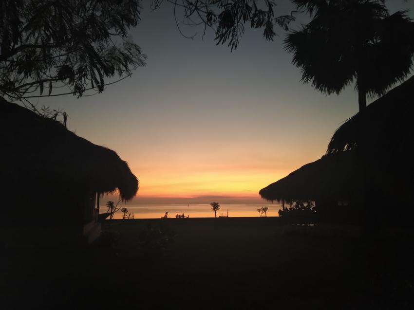 Abendstimmung im Resort, Atauro Dive Resort, Osttimor