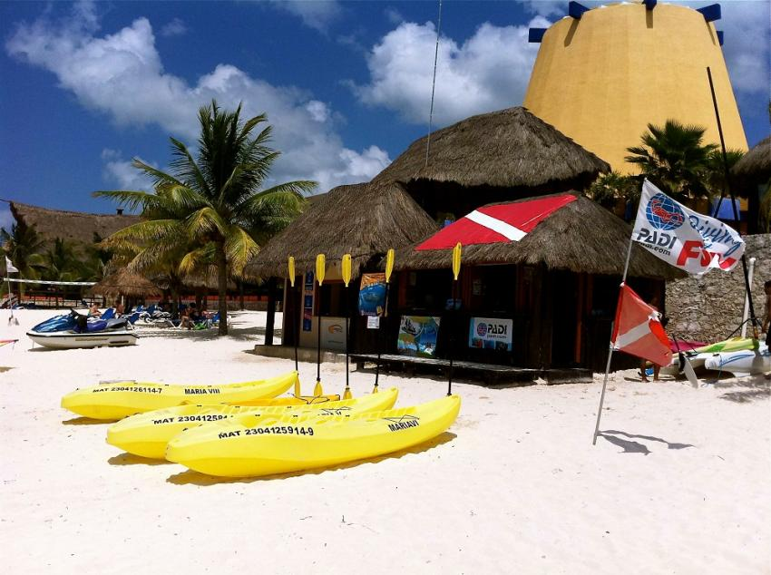 Pro Dive - Melia Vacation Club Cozumel, Pro Dive Mexico, Melia Cozumel All Inclusive Golf & Beach Resort, Cozumel, Mexiko
