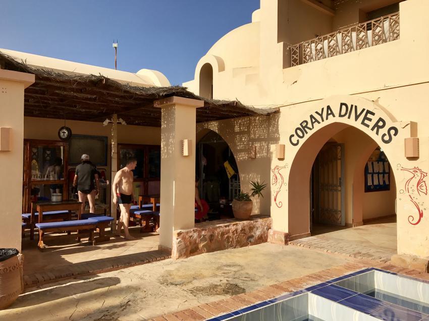 Meetingpoint of the Divecenter, Coraya Divers, Coraya Beach, Marsa Alam, Ägypten, Marsa Alam und südlich