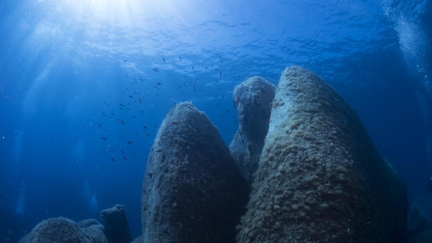Isola Maddalena, Blu Dive Center, Santa Teresa di Gallura (Sardinien), Italien, Sardinien