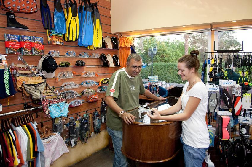 Der Scuba Shop, Sinai Divers, Na'ama Bay, Sharm el Sheikh, Ägypten, Sinai-Süd bis Nabq
