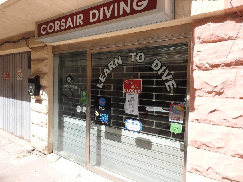 Corsair Diving, Triq Il-qroll Bugibba, Malta