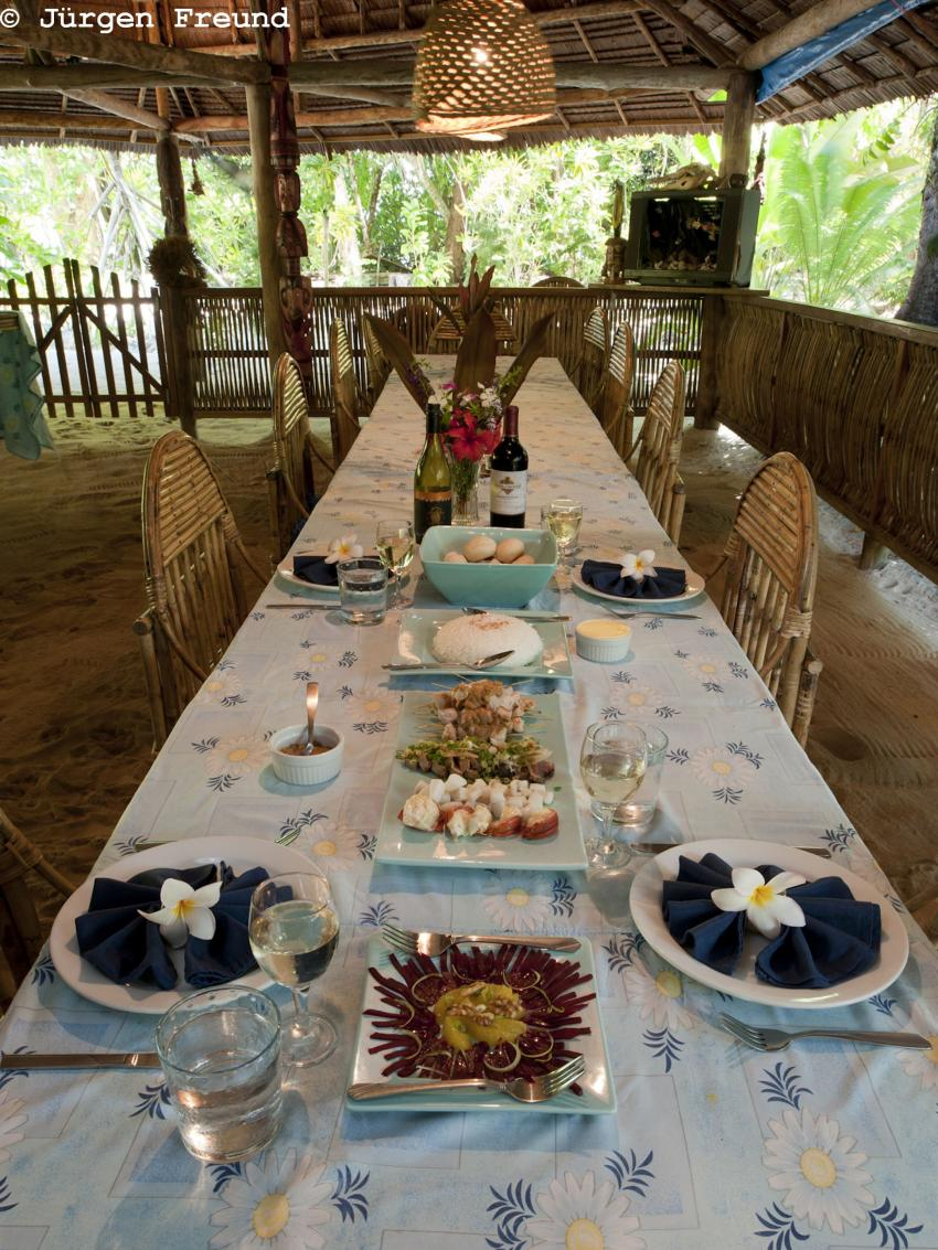 Lissenung Island Resort - Unterkunft, Papua-Neuguinea