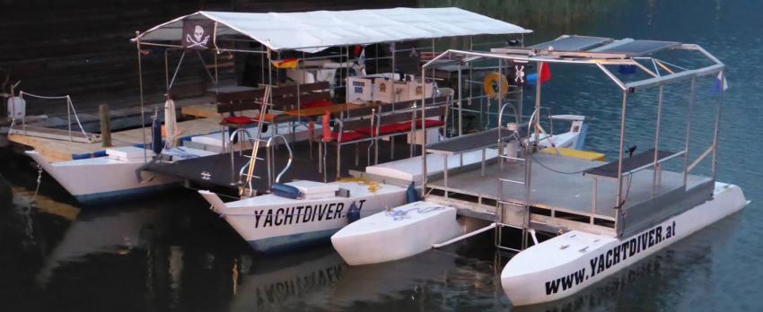 ES YACHTDIVER I + ES YACHTDIVER II, Yachtdiver, Yachtdiver Techendorf Weißensee, Österreich