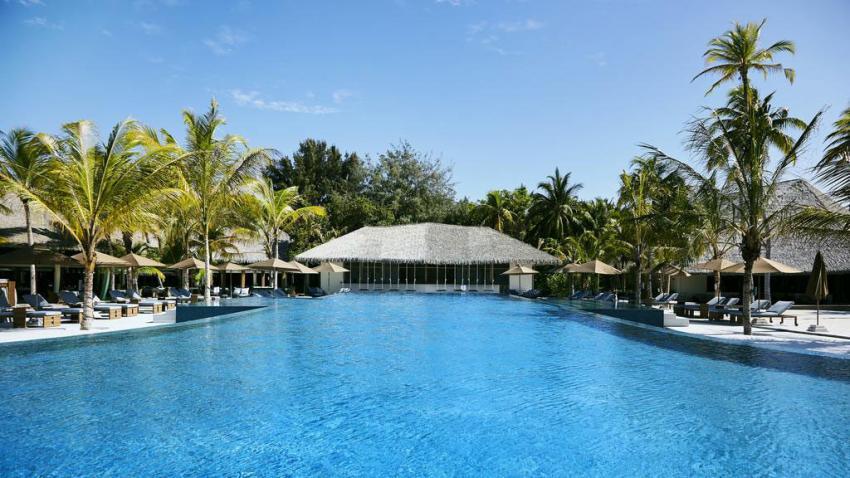Infinity Pool & Bar, Pool, Ocean Dimensions, Kihaa Maldives, Baa Atoll, Malediven