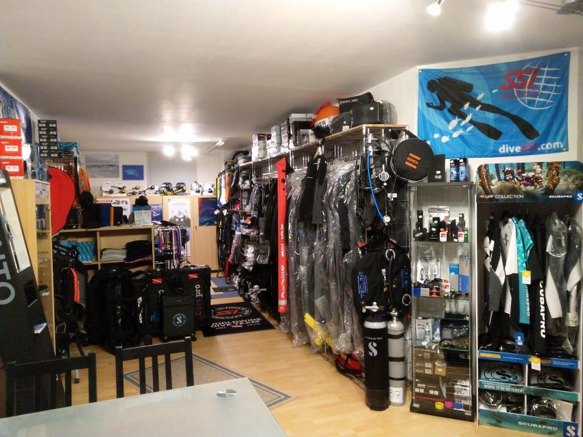 Der Shop, Balance-Diving - Tauchen in Mainfranken, Arnstein, Deutschland, Bayern